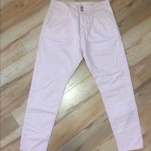 Pale pink Levi's
